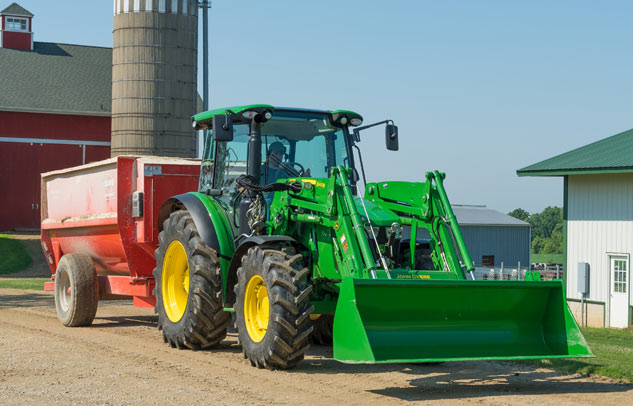 2018 John Deere 5115R Towing