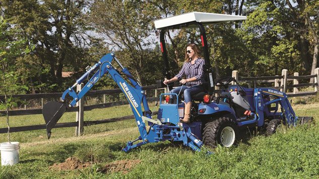 2018 New Holland Workmaster 25S Backhoe