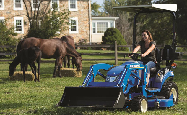 2018 New Holland Workmaster 25S Subcompact Preview