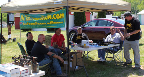 MyTractorForum.com at the Antique Engine & Tractor Show