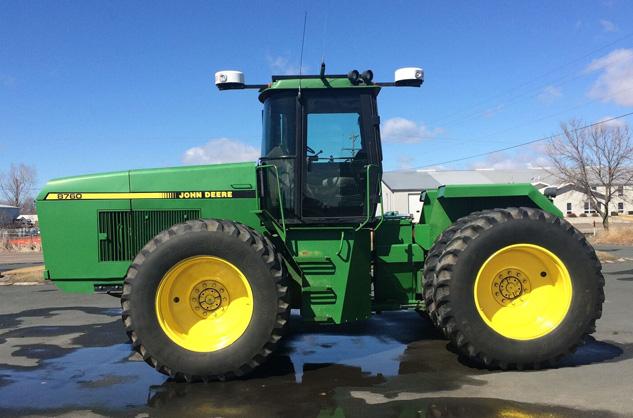 Autonomous Tractor Corporation John Deere 8760