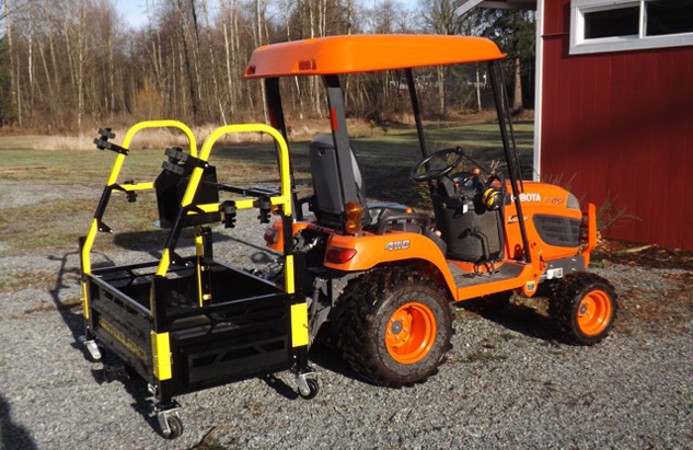 Big Tool Rack Kubota