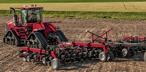 Case IH Steiger Rowtrac with Implements