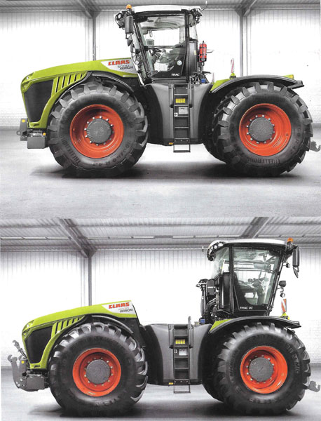 Claas XERION Rotating Cab