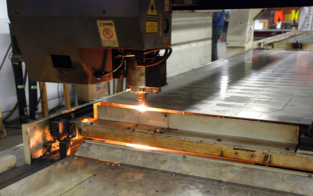Curtis Industries Laser Cutting