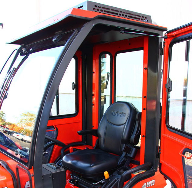 Tractor Air Conditioning : Air conditioning for kubota bx tractors with cabs