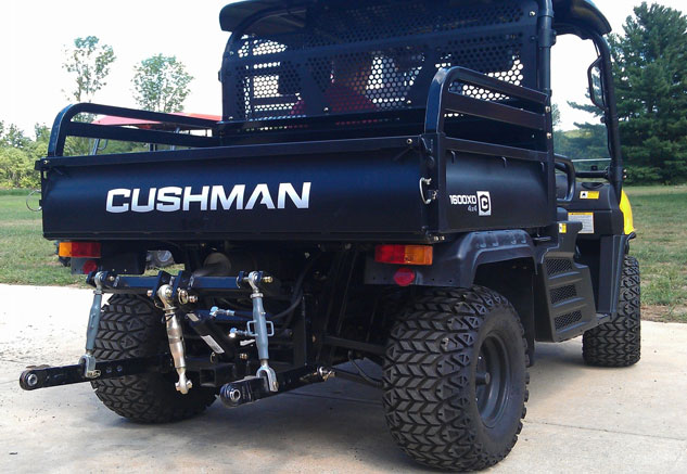 Cushman Three-Point Hitch