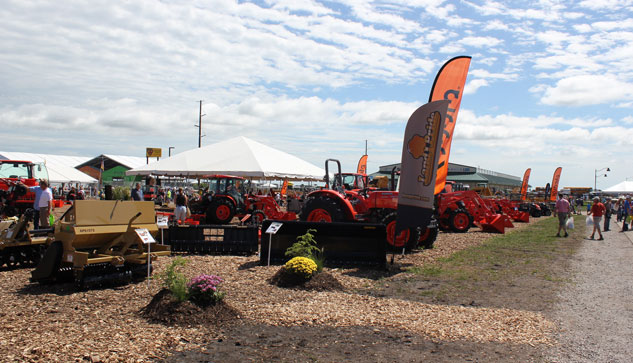 2014 Farm Progress Show Kubota