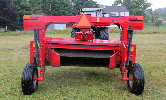 Hesston 1366 Disc Mower Rear