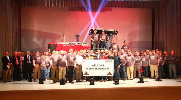 Hesston 100,000th Windrower Celebration