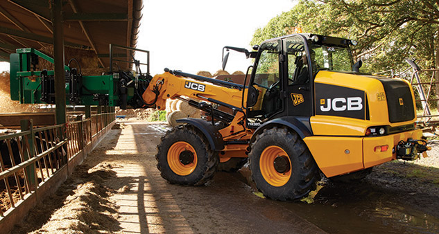 2016 JCB TM320 Profile Left