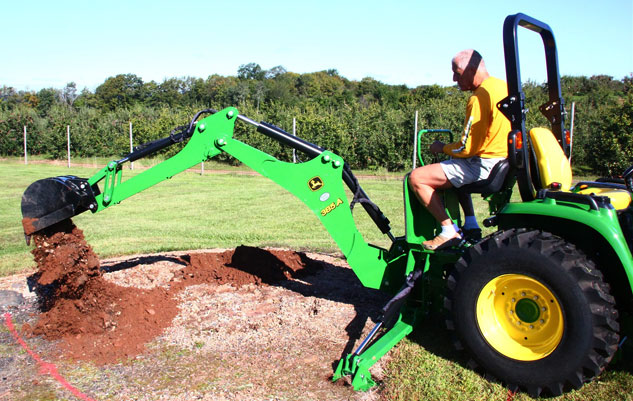 John Deere 3033 : John deere r tlb l term review midway report