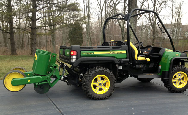 John Deere Gator 825i with Planter
