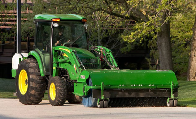 John Deere Sweeper