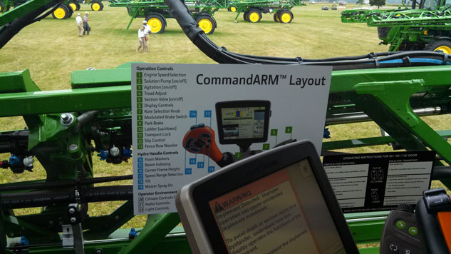 John Deere R4038 Sprayer CommandARM