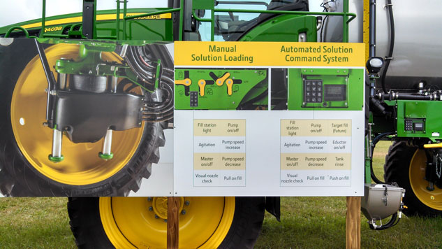 John Deere R4038 Sprayer Information