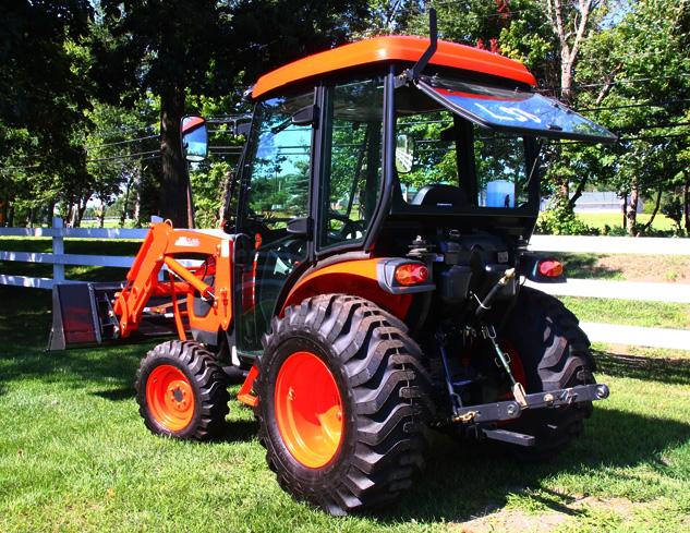 Kioti Tractor Seat : Kioti ck cab review