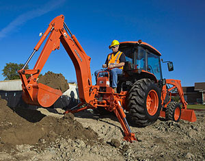 Kubota Grand L40 Series with Backhoe