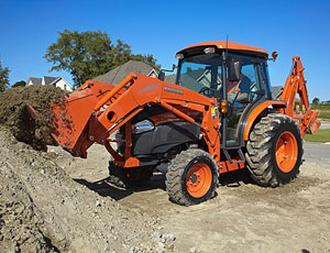 Kubota Grand L4240 Tractor with LA854 Loader