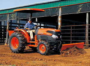 Kubota Grand L4240 on the Farm