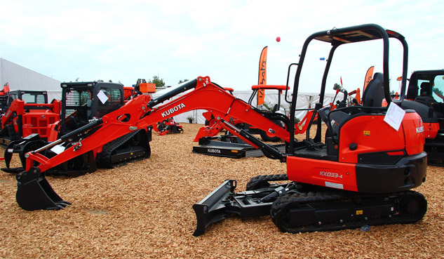 Kubota KX033-4 World Ag Expo