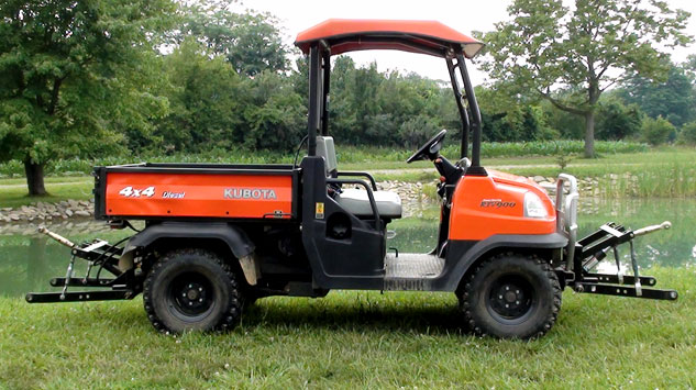 Kubota RTV900 Double Hitch