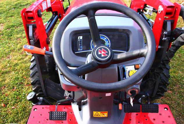 2016 Massey Ferguson 2705E Cockpit