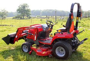 2012 Massey Ferguson GC2400 Right Rear