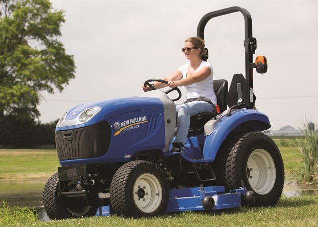 2017 New Holland Boomer 24 Profile