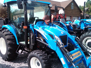 2011 New Holland Boomer 3045 Cab Tractor Review