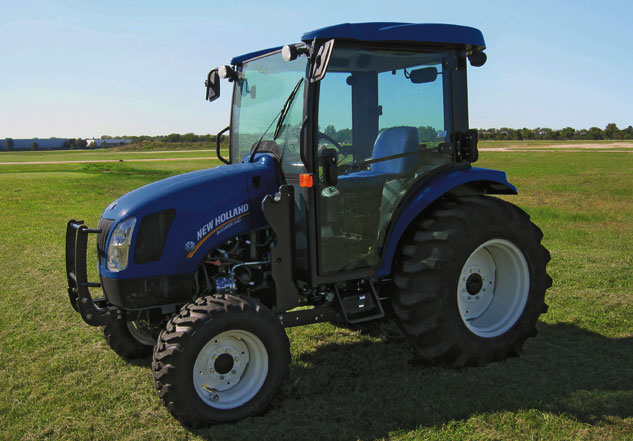 New Holland Compact Utility Tractor : Cut vs ut