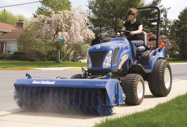 New Holland Rotary Broom