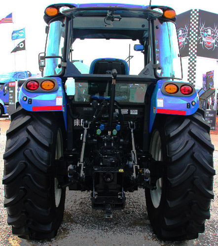 New Holland T4.115 Rear