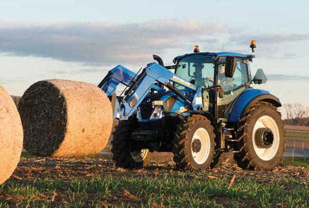 2016 New Holland T5.120 Hay Work