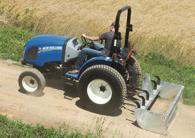 New Holland Workmaster 33 Box Blade