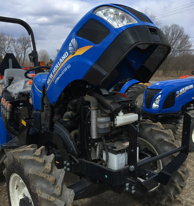 2018 New Holland Workmaster 60 Hood