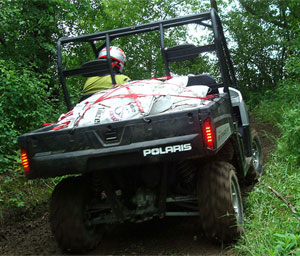 Polaris Ranger HD 800 Hauling