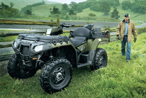 Polaris Sportsman X2 550