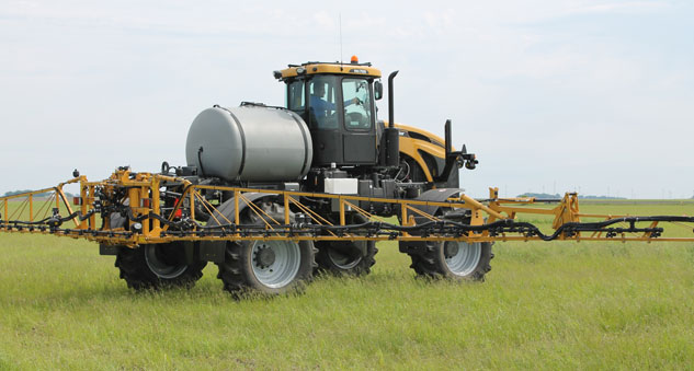 RoGator RG700 Sprayer Field