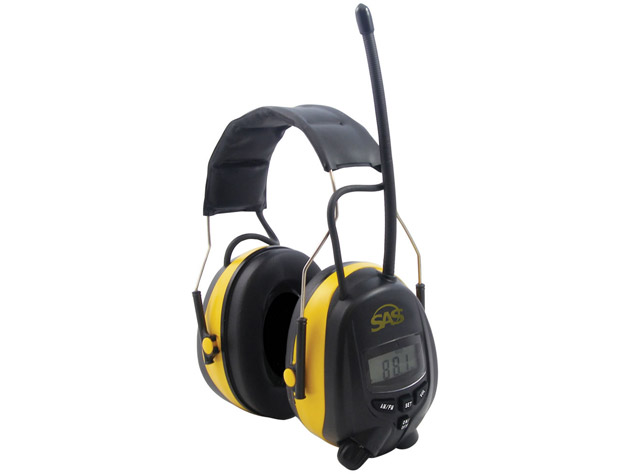 SAS Digital Hearing Protector with AM/FM Radio and MP3 Player