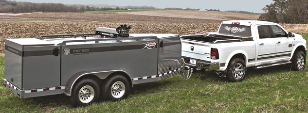 Thunder Creek Equipment FST 990 Towing