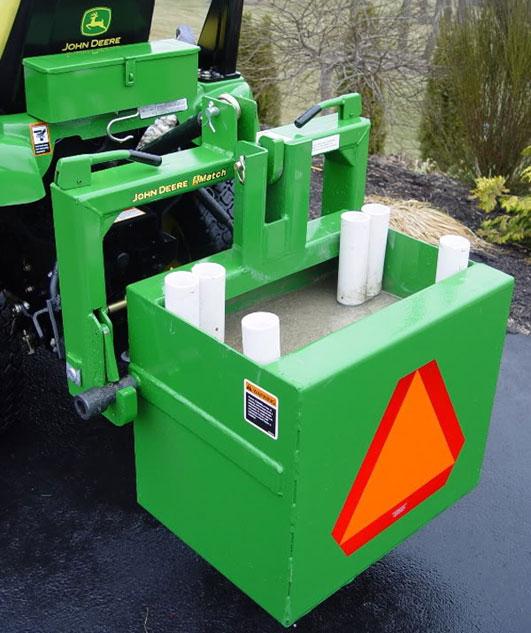 Tractor Ballast Box Pvc Tubes