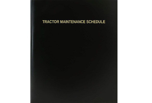 Tractor Maintenance Log Book