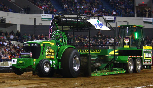 National Farm Machinery Show Tractor Pull