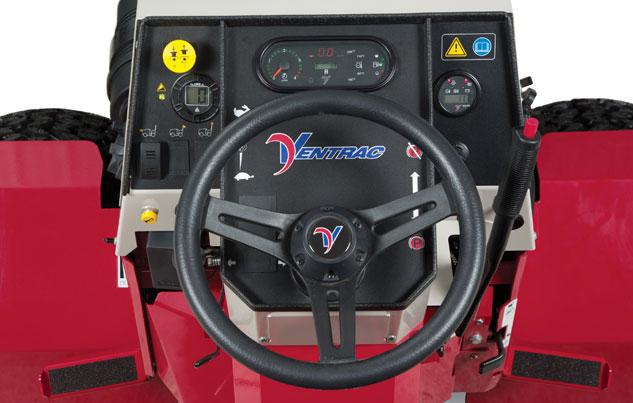 Ventrac 4500 Series Dash
