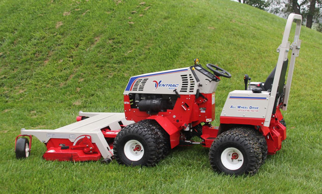 Ventrac 4500Z with Mower