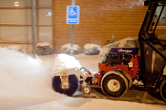 Ventrac Rotary Broom Snow Removal