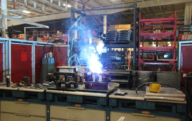 Ventrac Manufacturing Welding