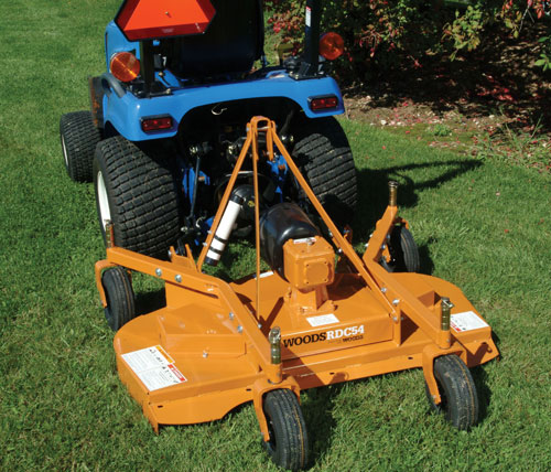 Woods Rear Discharge Finish Mower