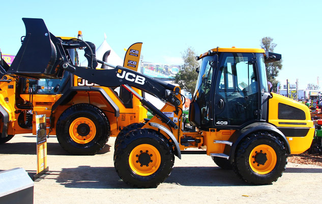World Ag Expo JCB